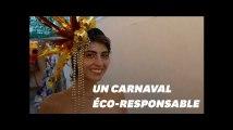 Au carnaval de Rio, des looks vegans et éco-responsables