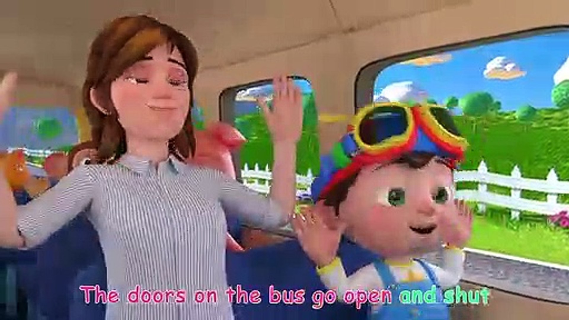 Wheels On The Bus Cocomelon Nursery Rhymes Kids Songs Video Dailymotion