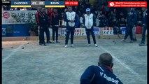 International à pétanque de Sète 2019 : 32e FAZZINO vs BRUN - Début