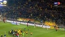 Aris fans and players celebrate the win - Aris vs AEK 02.03.2019 [HD]