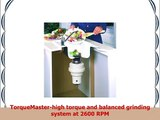 Waste Maid 58 Economy Food Waste Disposer Garbage Disposal Attached Power Cord 12 HP 2600