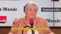 """Jacqueline Gourault : """"Agnès Buzyn a toutes les capacités"""" pour être tête de liste aux Européenne"""