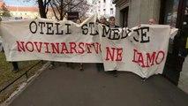 Les journalistes croates se rassemblent pour dénoncer les pressions politiques