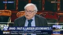 """""""Il faut récupérer les enfants."""" Henri Leclerc prend position sur le rapatriement des enfants de jihadistes français partis en Syrie"""