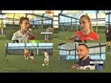 Report TV - Speciale/ Vajzat që sfiduan djemtë në futboll