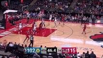 JaKarr Sampson Posts 19 points & 10 rebounds vs. Santa Cruz Warriors
