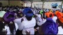 RTG - Installation du nouveau responsable Jean Jacques Ndong Ekouaghé à la paroisse des 9 étages