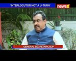 Ram Madhav defends GST and Demonetisation_ Cover Story by Priya Sehgal