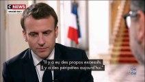 Crise des gilets jaunes : Emmanuel Macron admet des «erreurs» à la télévision italienne