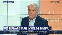 Atteint d'un double cancer, Bernard Tapie donne de ses nouvelles