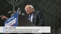 Sanders promises fight to win against racial, economic injustices in US