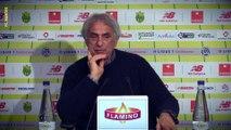 Vahid Halilhodzic avant AS Vitré - FC Nantes