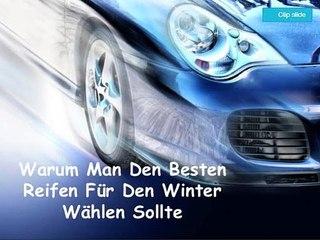 Warum Man Den Besten Reifen Für Den Winter Wählen Sollte