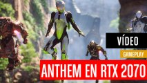 Anthem en Asus SCAR II RTX 2070