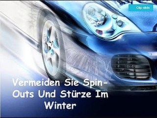 Vermeiden Sie Spin-Outs Und Stürze Im Winter