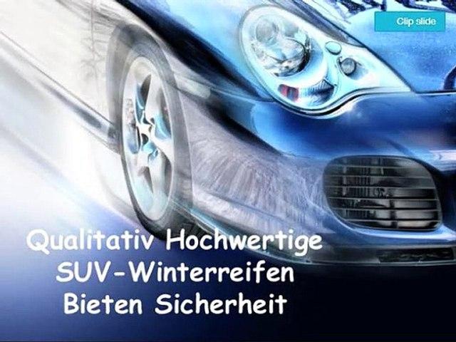 Qualitativ Hochwertige SUV-Winterreifen Bieten Sicherheit