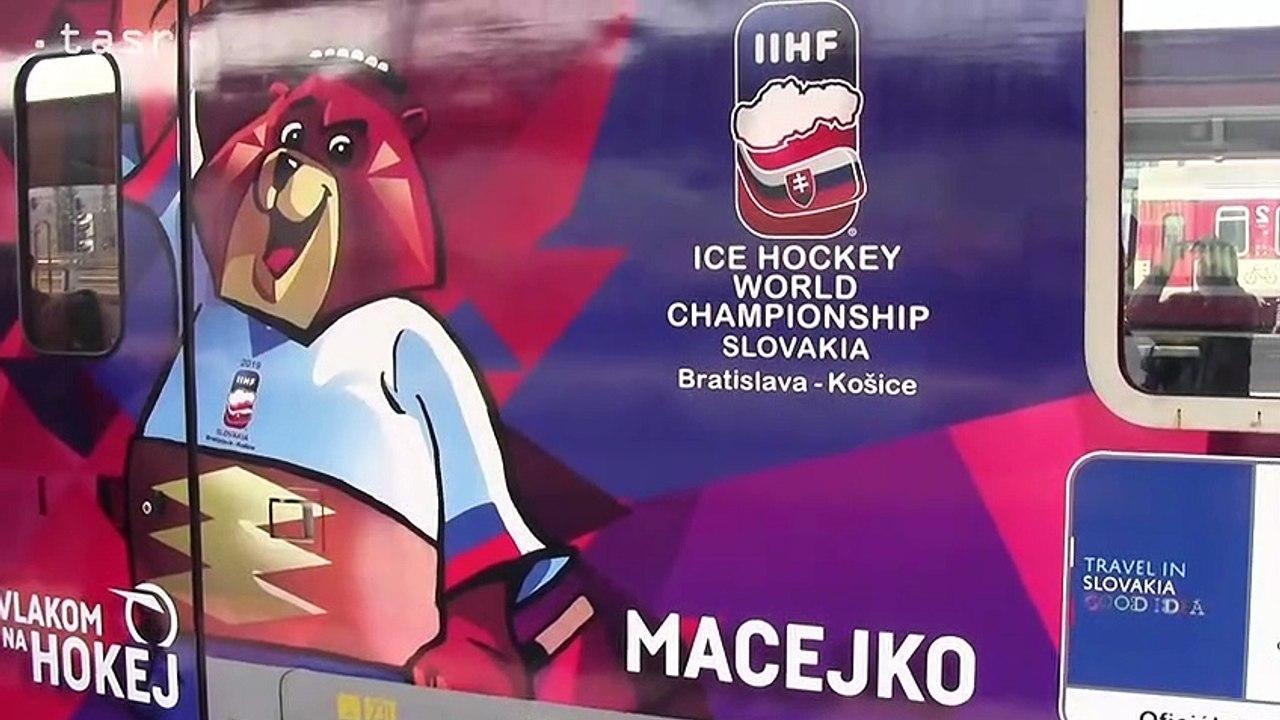 IC vlak Macejko posilní vlakové spojenie do Košíc počas MS v ľadovom hokeji