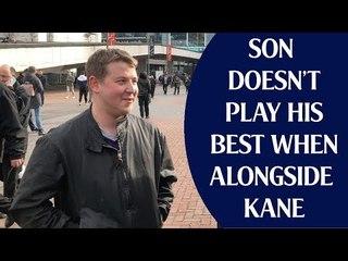 Tottenham 1 Arsenal 1 | Son Doesn't Play His Best When Alongside Kane | Fan Cam