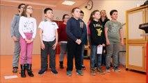 """Des élèves meusiens répètent l'opéra """"Nous n'irons pas à l'opéra"""" aux côtés du compositeur Julien Joubert"""