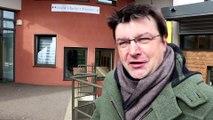 """Julien Joubert, compositeur en répétition avec élèves meusiens : """"Ma mise en condition se fait beaucoup par le rire"""""""