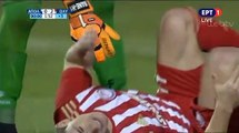 Olympiakos requests a penalty (91') - Apollon Smyrnis 0-2 Olympiakos (Full Replay) 04.03.2019 [HD]