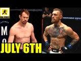 Conor McGregor vs Donald Cerrone on July 6? Cowboy wants it!,UFC 235 Face Off,Serra on Hughes