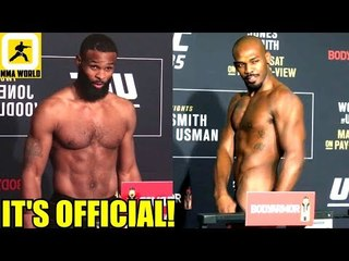 IT'S OFFICIAL! Jon Jones and Tyron Woodley will defend their belt tomorrow night!,UFC 235