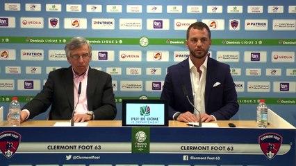 Conférence de presse de Claude Michy et Ahmet Schaefer