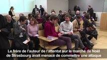 Strasbourg: 6 mois ferme pour le frère de Chérif Chekatt