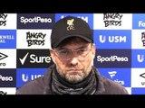 Everton 0-0 Liverpool - Jurgen Klopp Full Post Match Press Conference - 'Weather Didn't Help'
