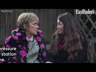 EastEnders: Jean's cancer secret   Stuart threatens Rainie over drugs past