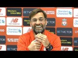 Jurgen Klopp Full Pre-Match Press Conference - Everton v Liverpool - Premier League