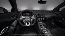 Audi R8 V10 performance quattro Innenraum Animation