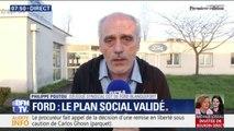 """Philippe Poutou (CGT) sur Ford: """"On va attaquer en justice et se battre pour faire invalider ce plan social"""""""