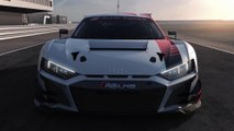 Audi R8 LMS and Audi R8 V10 performance quattro - Safety concept and drive train Animation