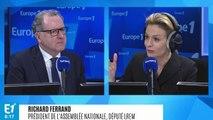 """Richard Ferrand : """"L'enjeu, c'est de mettre l'Europe en marche"""""""