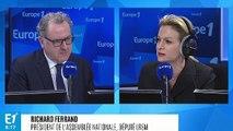 """Richard Ferrand se confie sur l'élection européenne à venir : """"Nous avons le scénario, le chemin et l'orientation donnés par Emmanuel Macron"""""""