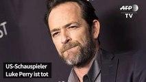 US-Schauspieler Luke Perry ist tot