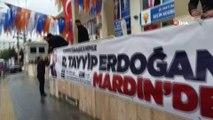 Mardin'de Cumhurbaşkanı Erdoğan için hazırlıklara başlandı