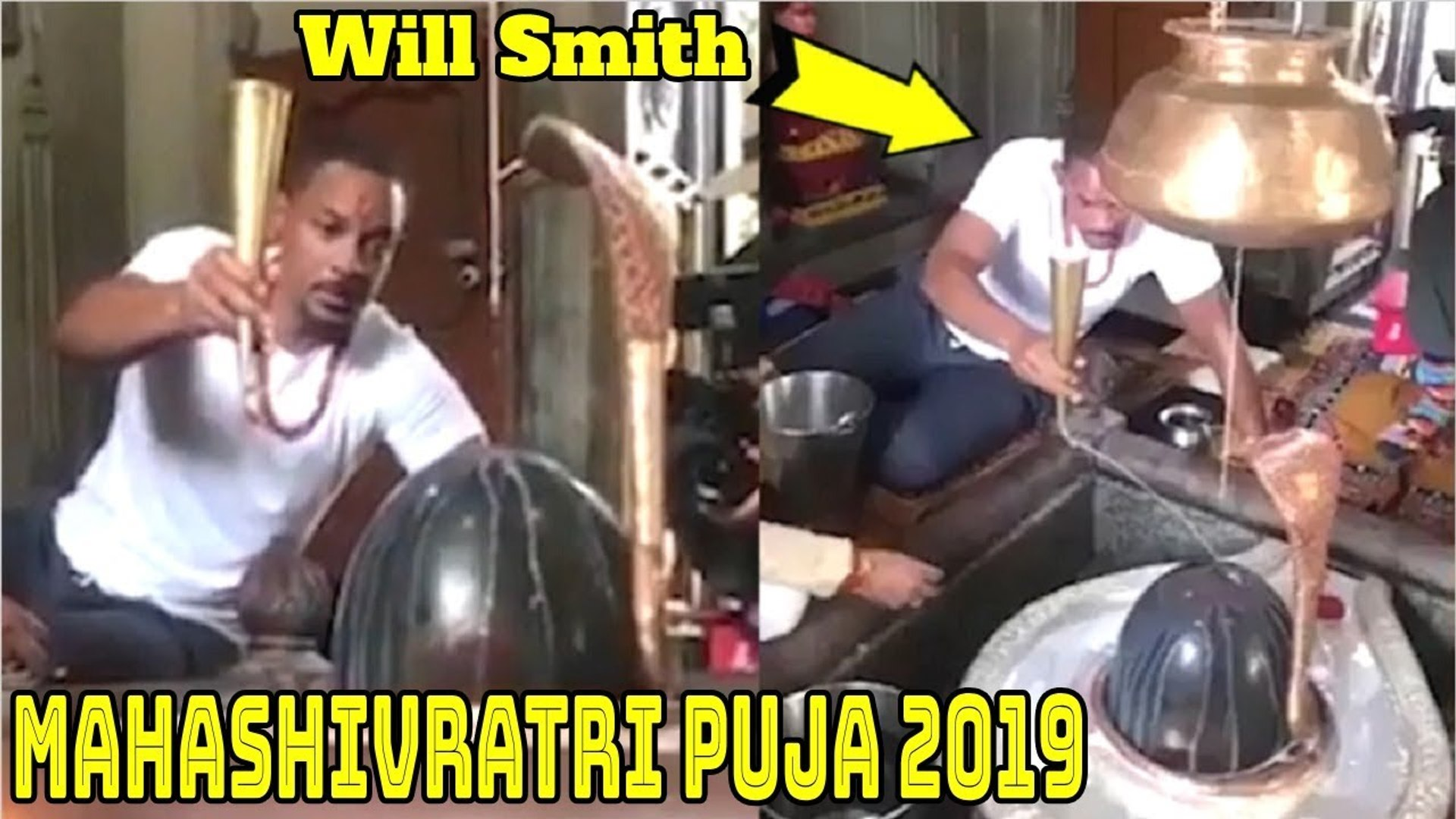 Hollywood Superstar Will Smith Does Mahashivratri Puja - Shows LOVE & Respect For Indian Festiva