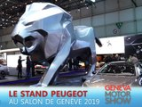 Le stand Peugeot en direct du salon de Genève 2019