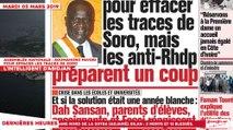 Le Titrologue du 05 Mars 2019 : Assemblée Nationale, Soumahoro favori pour effacer les traces de Soro