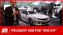 Peugeot 508 Sport Engineered  : 400 ch et de l'hybride au salon de Genève