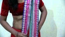 bengali saree wearing style   saree draping bengoli style   স্যারি বঙ্গের স্টাইল