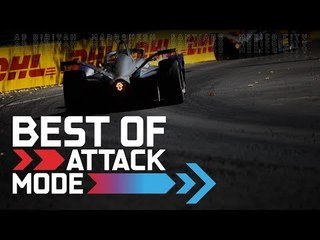 The Most Exciting ATTACK MODE Moments So Far | ABB FIA Formula E Championship
