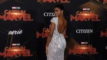 "Lashana Lynch ""Captain Marvel"" World Premiere Red Carpet"