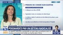 Un détenu radicalisé a poignardé deux surveillants pénitentiaires à Condé-sur-Sarthe, dans l'Orne