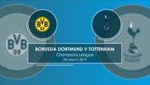 Dortmund v Tottenham - head to head