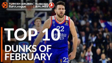 Top 10 Dunks of February