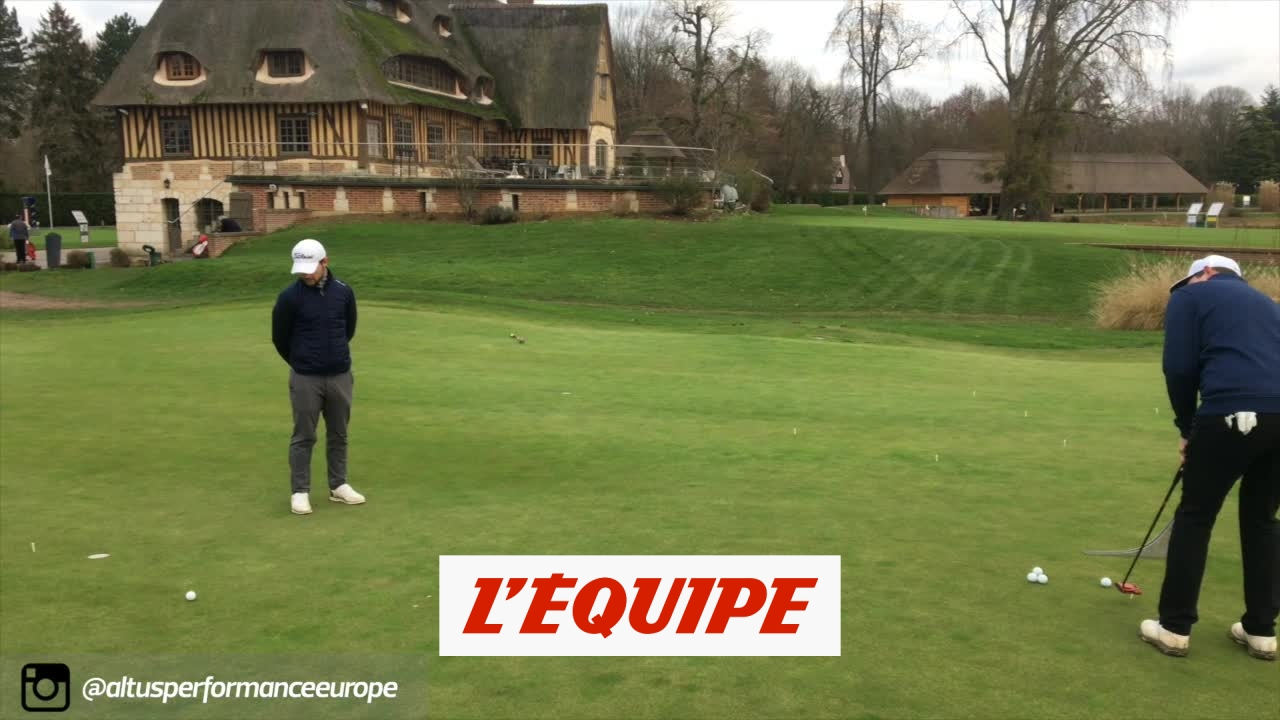 La vitesse au putting – Golf – Altus